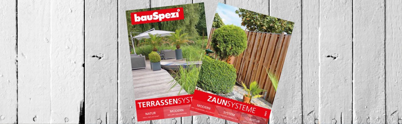 Zaun- und Terrassenkataloge